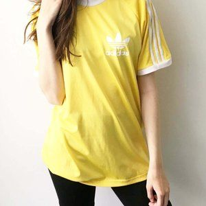 Adidas Originals Graphic Tee Shirt Ringer Active M